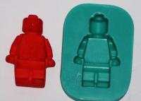 náhled - SILIKONOVÁ FORMA LEGO PANÁČEK