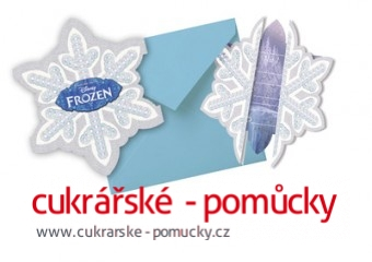 FROZEN POZVÁNKA NA PARTY  6 KS