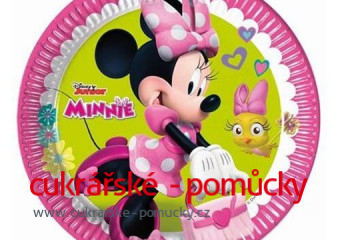 MINNIE PARTY TALÍŘE 8 KS