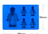 náhled - SILIKONOVÁ FORMA LEGO PANÁČCI